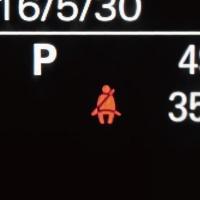 シートベルト警告音解除